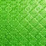 彩色玻璃绿色  免版税图库摄影