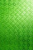 彩色玻璃绿色  库存图片