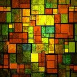 彩色玻璃 免版税图库摄影