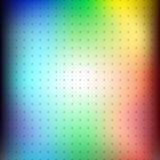 彩虹与小点栅格的迷离背景  库存照片