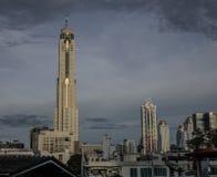 彩虹中心第二期在曼谷,泰国 免版税库存图片