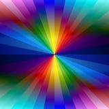 彩虹五颜六色的万花筒背景 库存图片