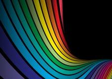 彩虹向量 库存图片