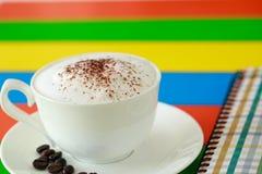 彩虹咖啡 免版税库存图片