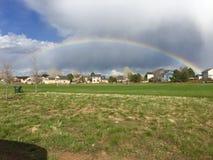 彩虹在公园 库存图片