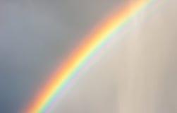 彩虹在雨中 免版税库存图片