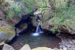 彩虹峡谷,大教堂高峰自然保护,德肯斯伯格山脉,夸祖鲁纳塔尔,南非 库存图片