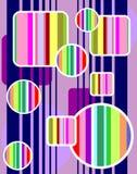彩虹形状 库存图片