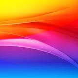 彩虹抽象传染媒介背景 皇族释放例证