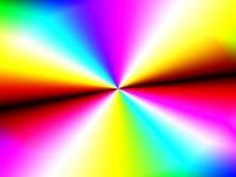 彩虹抽象桌面 免版税库存照片