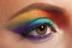 彩虹构成 库存照片