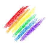 彩虹梯度 库存图片