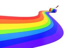 彩虹概念 库存图片