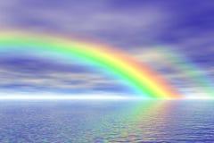 彩虹海运 向量例证