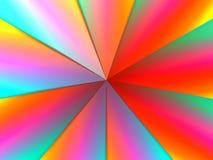 彩虹漩涡 免版税库存照片