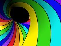彩虹漩涡 皇族释放例证