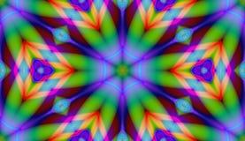 彩虹瓦片 向量例证