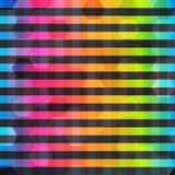 彩虹种族分界线无缝的样式 皇族释放例证