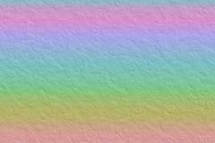 彩虹纸背景 库存照片