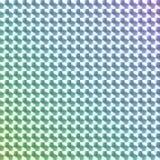 彩虹色的全息图贴纸 库存照片