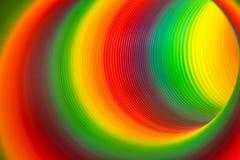 彩虹色的弹簧 免版税库存图片