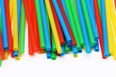 彩虹色的秸杆2 免版税图库摄影