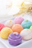 彩虹蛋糕 库存照片