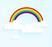 彩虹设计 库存照片