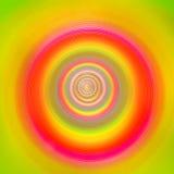 彩虹隧道由苗条导致无限做成 库存图片
