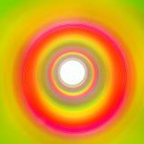 彩虹隧道由苗条导致白色背景做成 库存图片