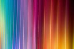 彩虹颜色抽象条纹  免版税图库摄影