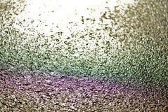 彩虹,油下落,沥青颜色 图库摄影