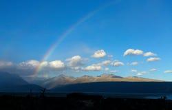 彩虹, Mt厨师, NZ 库存照片