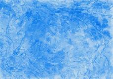 水彩被弄皱的和被抓的蓝色背景看起来象冷淡的窗口 也corel凹道例证向量 皇族释放例证