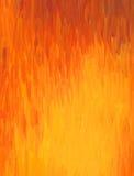 水彩绘画在温暖的颜色树荫下 免版税图库摄影