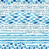 水彩织地不很细无缝的样式 库存例证