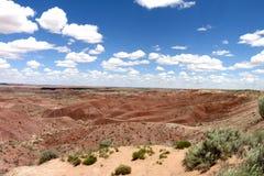 彩绘沙漠在亚利桑那美国- 2 库存图片