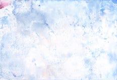 水彩轻的背景 免版税图库摄影