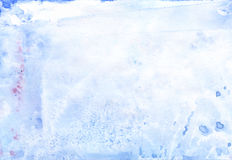 水彩轻的背景 免版税库存照片