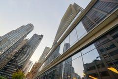 彭博大厦-纽约 库存图片