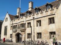 彭布罗克角学院剑桥大学 免版税库存照片