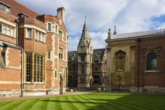 彭布罗克角学院在剑桥 库存照片
