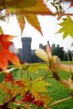 彭林城堡在威尔士,英国, Walesh系列防御 库存图片