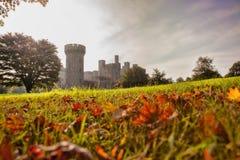 彭林城堡在威尔士,英国 免版税库存照片