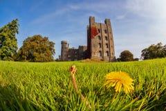 彭林城堡在威尔士,英国 免版税库存图片