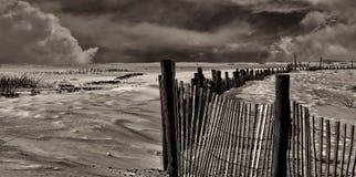 彭萨科拉海岸线在春天 免版税图库摄影