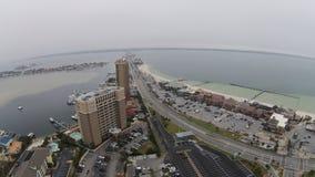 彭萨科拉海滩 库存照片