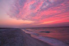 彭萨科拉海滩 免版税库存照片