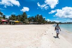 彭巴天堂海滩,北部莫桑比克 库存照片