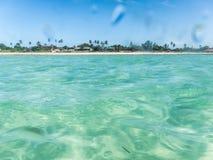 彭巴天堂海滩,北部莫桑比克 库存图片